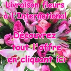 FLEURS A L'INTERNATIONAL